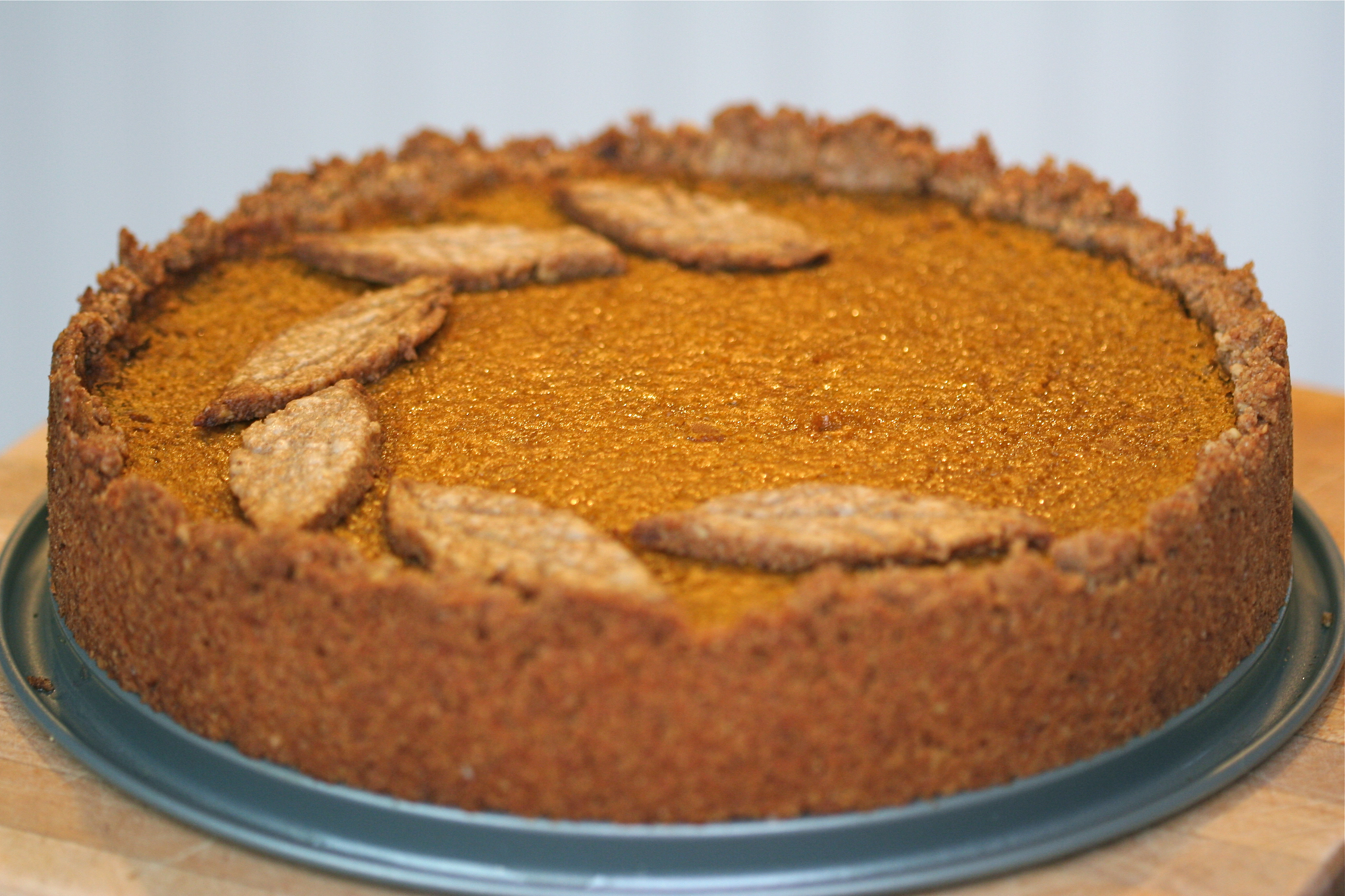 Deep Dish Pumpkin Pie with Whole Wheat-Walnut Crust (PDF)