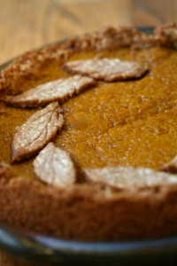 Deep Dish Pumpkin Pie 1