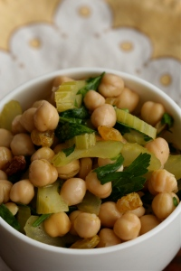 Close to Wolf's Chickpea Salad