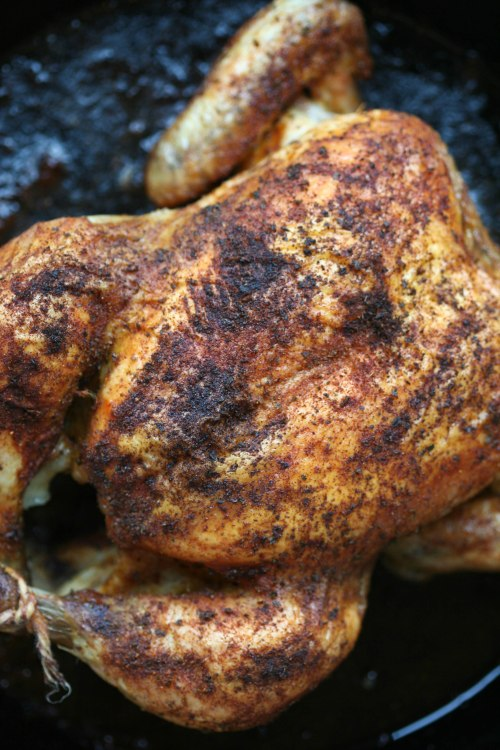 Simple Smoky Roasted Chicken