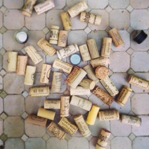 All those corks